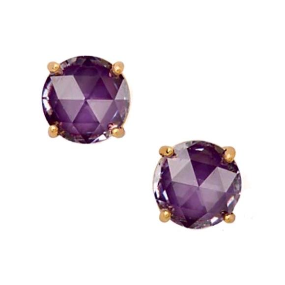Kate Spade Crystal Cushion Cut Gumdrop Earrings
